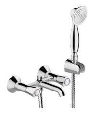 Смеситель Bravat DUO F6133186CP-B для ванны и душа