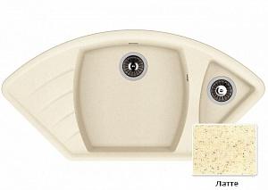 Мойка кухонная из литьевого мрамора Dr. Gans ГАБИ 25.050.E1015.403 101,5*51 см.