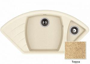 Мойка кухонная из литьевого мрамора Dr. Gans ГАБИ 25.050.E1015.405 101,5*51 см.