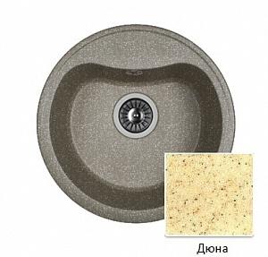Мойка кухонная из литьевого мрамора Dr. Gans ДОРА 25.015.B0435.402