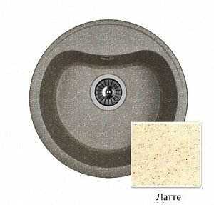 Мойка кухонная из литьевого мрамора Dr. Gans ДОРА 25.015.B0435.403