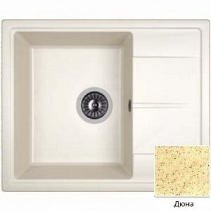 Мойка кухонная из литьевого мрамора Dr. Gans НИКА 25.070.B0580.402