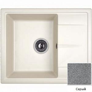 Мойка кухонная из литьевого мрамора Dr. Gans НИКА 25.070.B0580.404