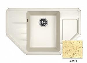 Мойка кухонная из литьевого мрамора Dr. Gans РИО 25.080.C0800.402
