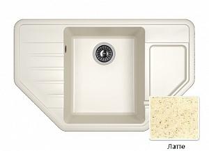 Мойка кухонная из литьевого мрамора Dr. Gans РИО 25.080.C0800.403
