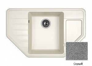 Мойка кухонная из литьевого мрамора Dr. Gans РИО 25.080.C0800.404