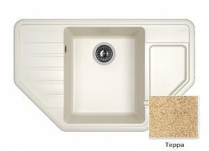 Мойка кухонная из литьевого мрамора Dr. Gans РИО 25.080.C0800.405