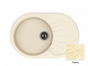 Мойка кухонная из литьевого мрамора Dr. Gans БЕРТА 25.040.C0760.403 76*51 см.