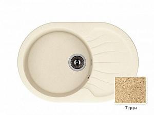 Мойка кухонная из литьевого мрамора Dr. Gans БЕРТА 25.040.C0760.405 76*51 см.