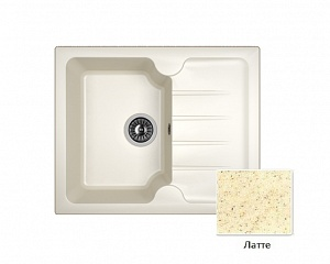 Мойка кухонная из литьевого мрамора Dr. Gans ЛОРА 25.020.A0620.403 62*51 см.