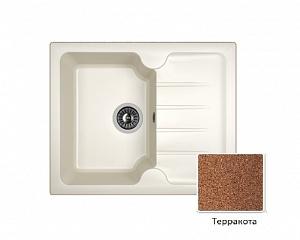 Мойка кухонная из литьевого мрамора Dr. Gans ЛОРА 25.020.A0620.406 62*51 см.