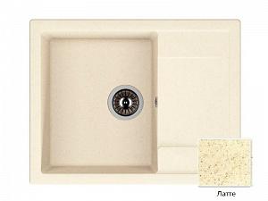 Мойка кухонная из литьевого мрамора Dr. Gans ТЕХНО 25.030.D0760.403 76*51 см.