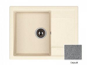 Мойка кухонная из литьевого мрамора Dr. Gans ТЕХНО 25.030.D0760.404 76*51 см.