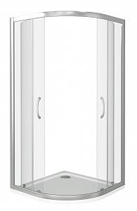 Душевой уголок BAS LATTE R ЛА00001 80x80 см.