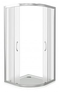 Душевой уголок BAS LATTE R ЛА00015 80x80 см.