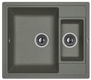Мойка кухонная керамогранитная Florentina ЛИПСИ 580К 20.210.D0580.102