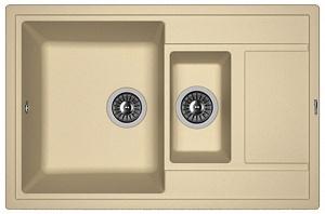 Мойка кухонная керамогранитная Florentina ЛИПСИ 780К 20.250.D0780.306