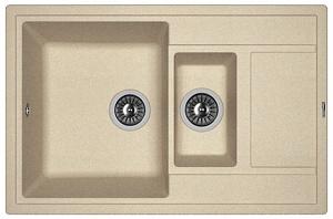 Мойка кухонная керамогранитная Florentina ЛИПСИ 780К 20.250.D0780.107