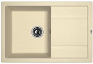Мойка кухонная керамогранитная Florentina ЛИПСИ 650 20.125.C0600.202