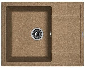 Мойка кухонная керамогранитная Florentina ЛИПСИ 650 20.125.C0600.105