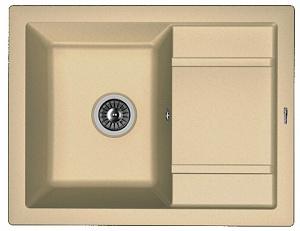 Мойка кухонная керамогранитная Florentina ЛИПСИ 660 20.155.C0660.306
