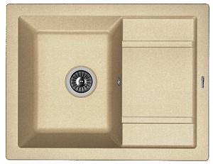 Мойка кухонная керамогранитная Florentina ЛИПСИ 660 20.155.C0660.104