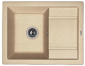 Мойка кухонная керамогранитная Florentina ЛИПСИ 660 20.155.C0660.107