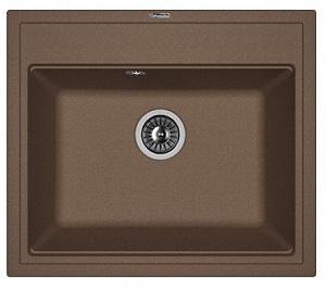 Мойка кухонная керамогранитная Florentina ЛИПСИ 600 20.120.D0600.303