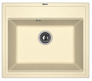 Мойка кухонная керамогранитная Florentina ЛИПСИ 600 20.120.D0600.202