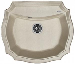 Мойка кухонная керамогранитная Florentina ЭМИЛИЯ 640 20.355.D0640.305