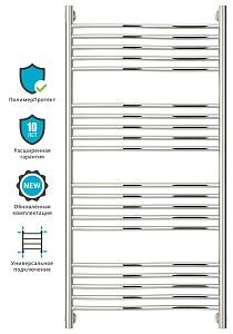 Полотенцесушитель водяной Сунержа ФЛЮИД+ 00-0222-1260 1200х600