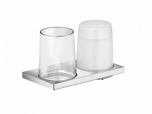 Стакан и дозатор жидкого мыла навесной Keuco EDITION 11 11153 019000