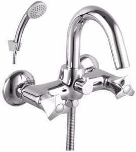 Смеситель Lemark PLUS FLAME LM1012C для ванны и душа