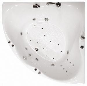 Ванна акриловая Triton ЛИЛИЯ  150x150 см.