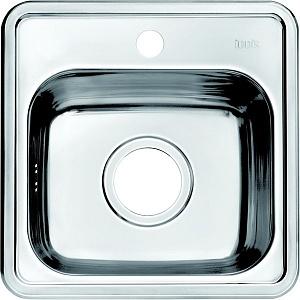 Мойка кухонная из нержавеющей стали IDDIS STRIT STR38S0i77 38*38 см.