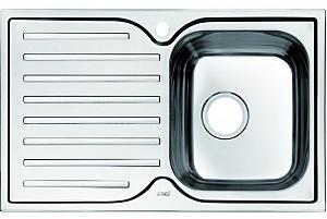 Мойка кухонная из нержавеющей стали IDDIS STRIT STR78SRi77 78*48 см.