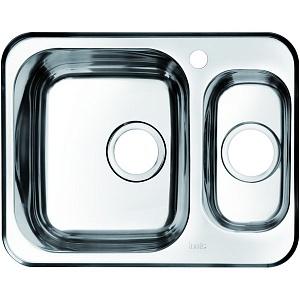 Мойка кухонная из нержавеющей стали IDDIS STRIT STR60PXi77 60,5*48 см.
