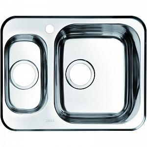 Мойка кухонная из нержавеющей стали IDDIS STRIT STR60SZi77 60,5*48 см.
