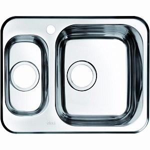 Мойка кухонная из нержавеющей стали IDDIS STRIT STR60PZi77 60,5*48 см.