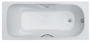 Ванна чугунная Goldman DONNI ZYA-9C-6 160x75 см.