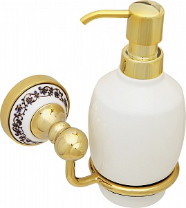 Дозатор жидкого мыла навесной Fixsen BOGEMA GOLD FX-78512G