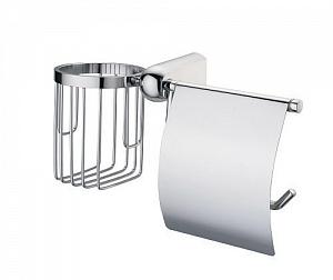 Держатель туалетной бумаги и освежителя воздуха WasserKRAFT BERKEL K-6859