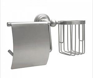 Держатель туалетной бумаги и освежителя воздуха WasserKRAFT AMMER K-7059