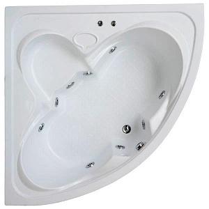 Ванна акриловая BAS ДРОВА В 00010 160x160 см.