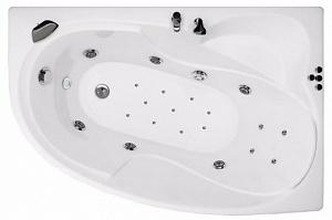 Ванна акриловая Triton НИКОЛЬ  160x100 см. левая