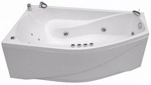 Ванна акриловая Triton СКАРЛЕТ  167x96 см. правая