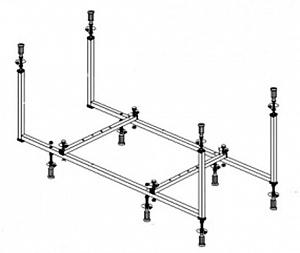 Каркас Vayer OPTIONS BTW  180x85 см.