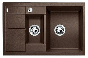 Мойка кухонная кварцевая Blanko METRA 6S COMPACT 515044
