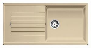 Мойка кухонная кварцевая Blanko ZIA XL 6S 517573
