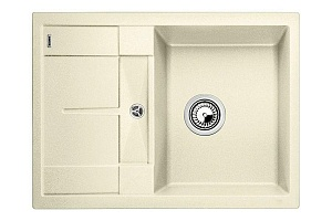 Мойка кухонная кварцевая Blanko METRA 45S COMPACT 519577